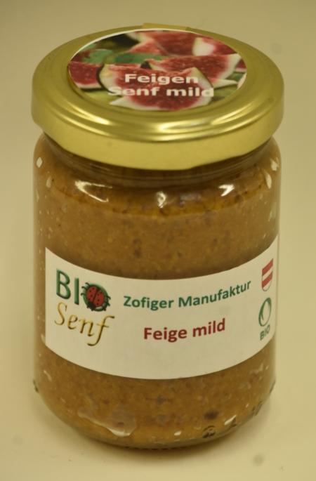 Zofiger Manufaktur Bio-Senf Feige mild