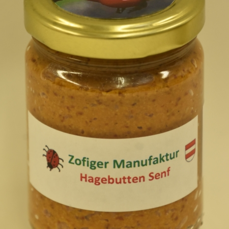 Zofiger Manufaktur Hagebutten Senf