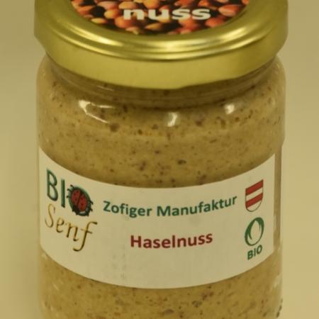 Zofiger Bio-Senf Haselnuss