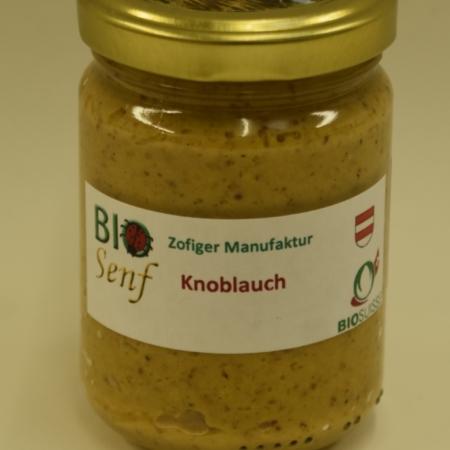 Zofiger Manufaktur Bio-Senf Knoblauch