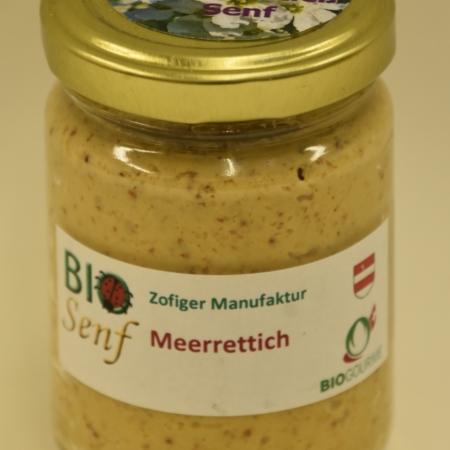 Zofiger Bio-Senf Meerrettich