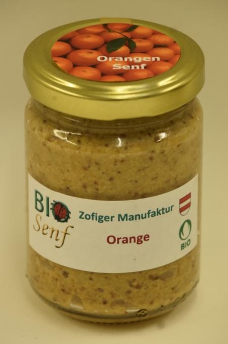 Zofiger Manufaktur Bio-Senf Orange