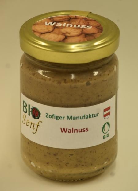 Zofiger Manufaktur Bio-Senf Walnuss