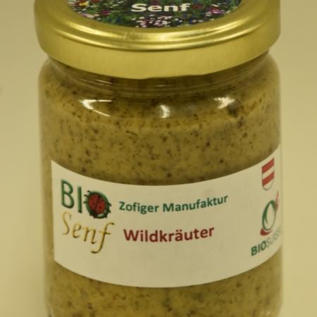 Zofiger Manufaktur Bio-Senf Wildkräuter