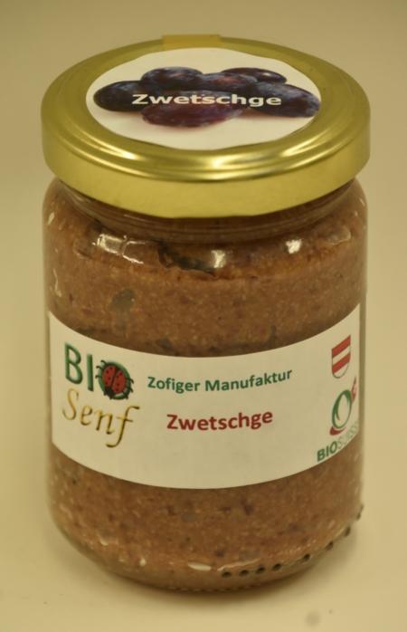 Zofiger Manufaktur Bio-Zenf Zwetschge mild